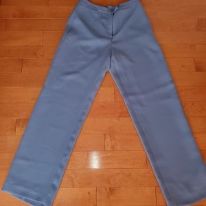 Vintage Style Periwinkle Flare Pants (10)